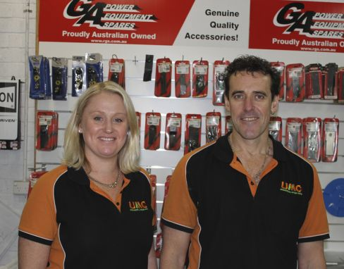 Staff at Unanderra Mower Centre